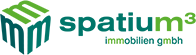 spatium³ immobilien gmbh Logo